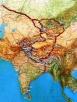 Маршруты Центрально-Азиатской экспедиции Н.К.Рериха. 1923-1928 гг.