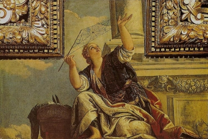 Paolo Veronese Arachne or Dialects. Palazzo Ducale, Venice